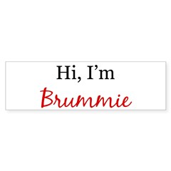Hi, I am Brummie Sticker (Bumper 10 pk)