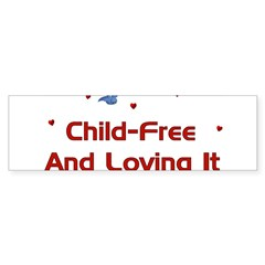 Child Free Sticker (Bumper 10 pk)