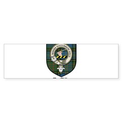 MacMillan Clan Crest Tartan Rectangle Sticker (Bumper 10 pk)