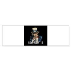 Vote Democratic II - Uncle Sa Sticker (Bumper 10 pk)