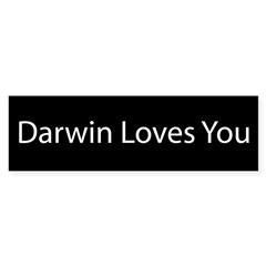 Darwin Loves You Sticker (Bumper 10 pk)