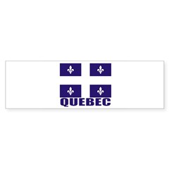 Quebec Sticker (Bumper 10 pk)