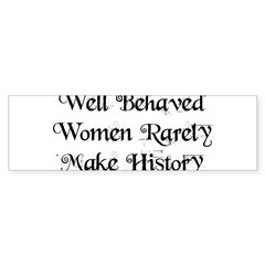 Well Behaved Sticker (Bumper 10 pk)