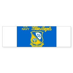 The Navy Blue Angeles Sticker (Bumper 10 pk)