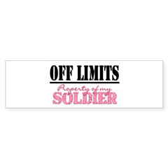 property of my soldier Rectangle Sticker (Bumper 10 pk)