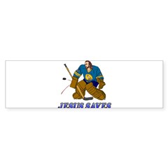 Jesus Saves (Hockey Goalie) Rectangle Sticker (Bumper 10 pk)