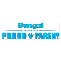 Bengal Parent Rectangle Sticker (Bumper 10 pk)