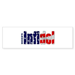 Proud Infidel Rectangle Sticker (Bumper 10 pk)