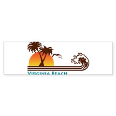 Virginia Beach Rectangle Sticker (Bumper 10 pk)