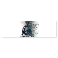 Pretty Buddha Rectangle Sticker (Bumper 10 pk)