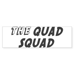 THE QUAD SQUAD Rectangle Sticker (Bumper 10 pk)