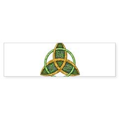 Celtic Trinity Knot Rectangle Sticker (Bumper 10 pk)