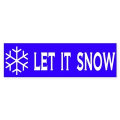 Think Snow Sticker (Bumper 10 pk)