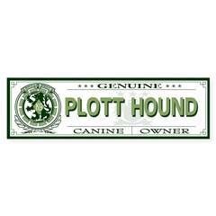 PLOTT HOUND Sticker (Bumper 10 pk)