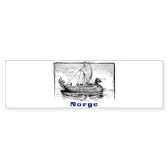 NORGE Rectangle Sticker (Bumper 10 pk)