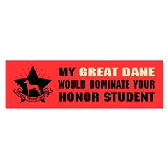 Great Dane Domination - Sticker (Bumper 10 pk)
