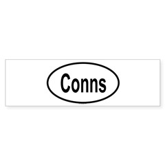 CONNS Oval Sticker (Bumper 10 pk)