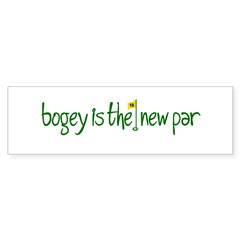 Bogey is the new Par Sticker (Bumper 10 pk)