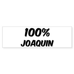 100 Percent Joaquin Sticker (Bumper 10 pk)
