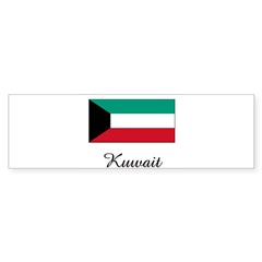 Kuwait Flag Rectangle Sticker (Bumper 10 pk)