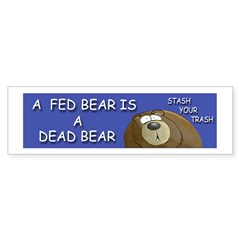 BEAR Sticker (Bumper 10 pk)