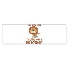 big brother t-shirts lion Rectangle Sticker (Bumper 10 pk)