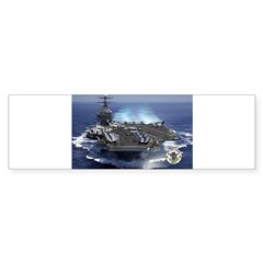 USS Carl Vinson CVN-70 Rectangle Sticker (Bumper 10 pk)