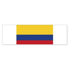 Flag of Colombia Rectangle Sticker (Bumper 10 pk)