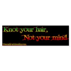 Not your mind Sticker (Bumper 10 pk)
