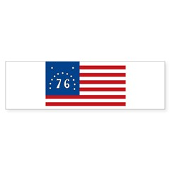 Bennington Battle Flag Rectangle Sticker (Bumper 10 pk)