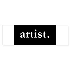 Artist Rectangle Sticker (Bumper 10 pk)