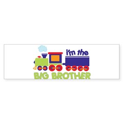 train big brother t-shirts Rectangle Sticker (Bumper 10 pk)