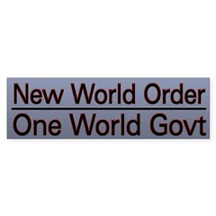 New World Order Truth Sticker (Bumper 10 pk)