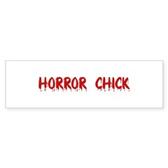 Horror Chick Rectangle Sticker (Bumper 10 pk)