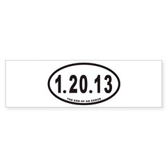 1.20.13 Euro Oval Sticker (Bumper 10 pk)
