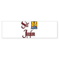 Sir Jaylon Rectangle Sticker (Bumper 10 pk)