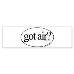 Got Air? Oval Sticker (Bumper 10 pk)
