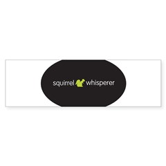 Squirrel Whisperer Sticker (Bumper 10 pk)