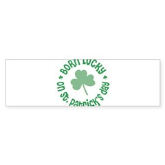 St. Patrick's Day Birthday Sticker (Bumper 10 pk)