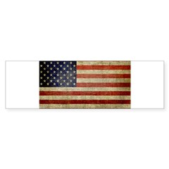 Antique Flag Rectangle Sticker (Bumper 10 pk)