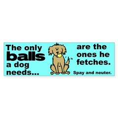 Neuter Support Sticker (Bumper 10 pk)