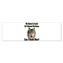 Can I keep him??? Sticker (Bumper 10 pk)