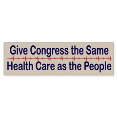 Give Congress Healthcare Sticker (Bumper 10 pk)