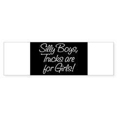 Silly Boys Rectangle Sticker (Bumper 10 pk)