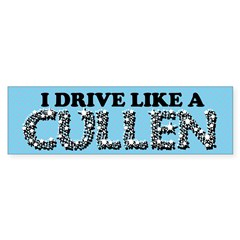 drive like a cullen remix Sticker (Bumper 10 pk)