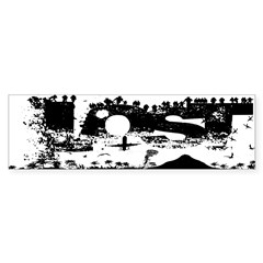 Lost Island White Sticker (Bumper 10 pk)