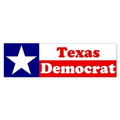 Texas Democrat Sticker (Bumper 10 pk)