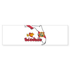 ILY Florida Sticker (Bumper 10 pk)