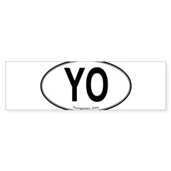 "Youngstown ""YO"" Sticker (Bumper 10 pk)"
