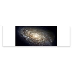 NGC 4414 Spiral Galaxy Oval Sticker (Bumper 10 pk)